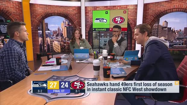 Peter Schrager: How the Seahawks' win over San Francisco 49ers 'completely shifted' the NFC picture