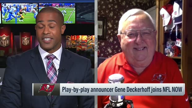 Bucs play-by-play announcer Gene Deckerhoff previews Bucs-Packers