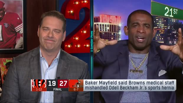 NFL Network's Deion Sanders: Cleveland Browns quarterback Baker Mayfield is saying 'young and dumb' things
