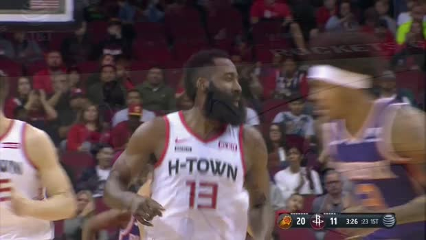 WSC: James Harden scores 34 points vs. Suns