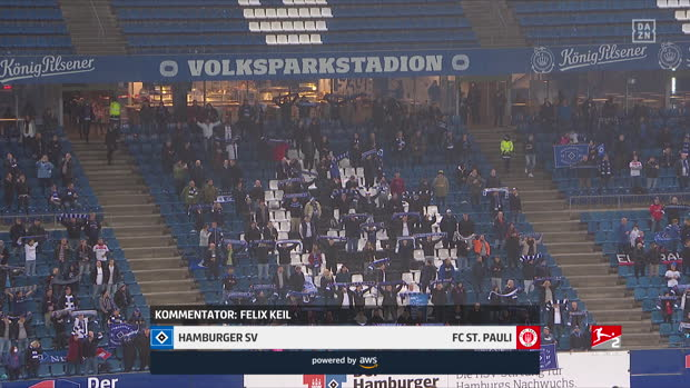 2. Bundesliga: Hamburger SV - FC St. Pauli | DAZN Highlights
