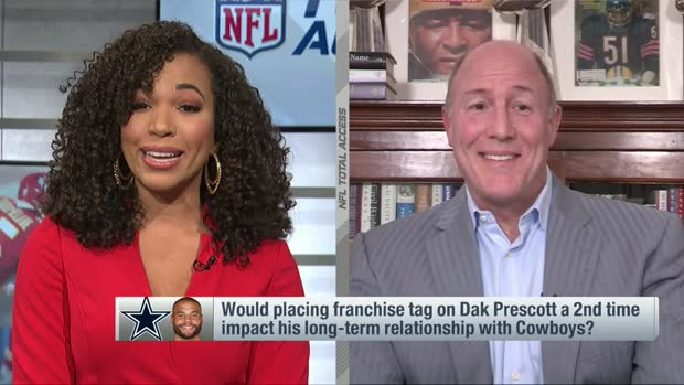 Scott Pioli: Dak's contract situation in Dallas reminds me of Vinatieri's in New England
