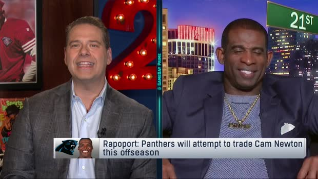 NFL Network's Deion Sanders: There's a 'zero' percent chance Cam Newton is a Panther in 2020