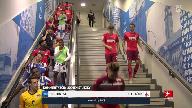 Bundesliga: Hertha BSC - 1. FC Köln | DAZN Highlights