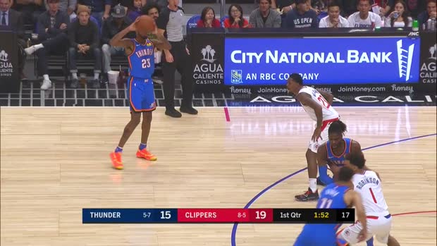 WSC: Dennis Schroder (12 points) Highlights vs. LA Clippers