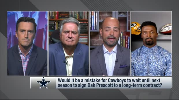 James Jones: Cowboys are 'in trouble' with Dak's contract situation