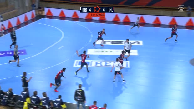 EHF European League: Trebnje - Rhein-Neckar Löwen | DAZN Highlights