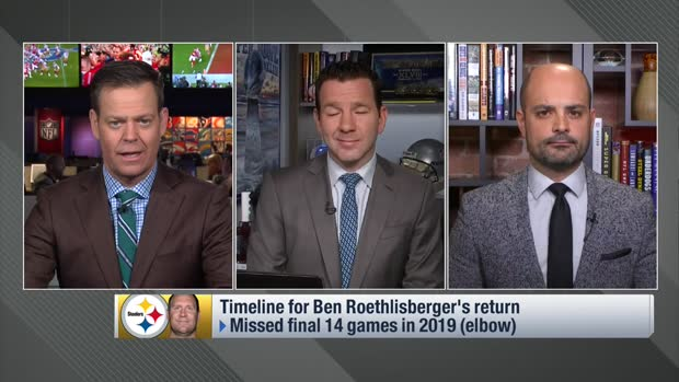 NFL Network Insider Ian Rapoport: Pittsburgh Steelers expect quarterback Ben Roethlisberger to be their starter in 2020