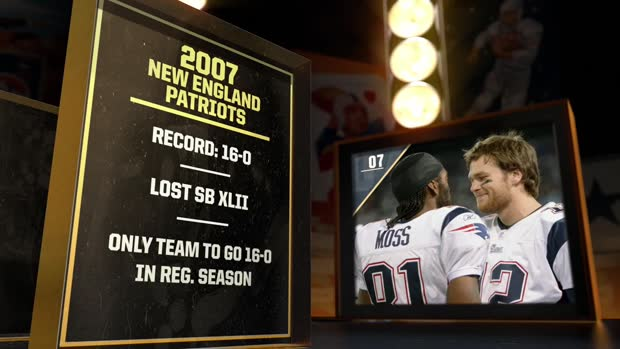 'NFL 100 Greatest' Teams, No. 7: 2007 New England Patriots