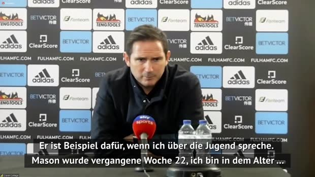"Lampard lobt Mount: ""Er war fantastisch"""