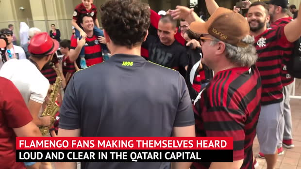 Flamengo fans eyeing up Club World Cup clash with