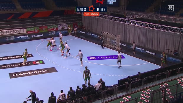 EHF European League: Magdeburg - Besiktas | DAZN Highlights