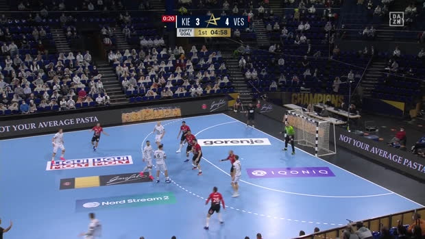 EHF Champions League: Kiel - Veszprem | DAZN Highlights
