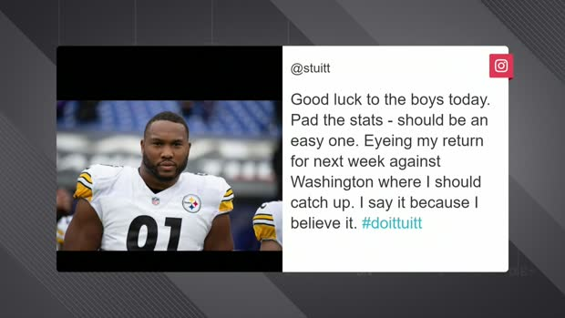Stephon Tuitt tweets Steelers should have 'an easy one' vs. Ravens