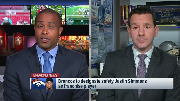 Rapoport: Broncos to give Justin Simmons franchise tag for second-straight year