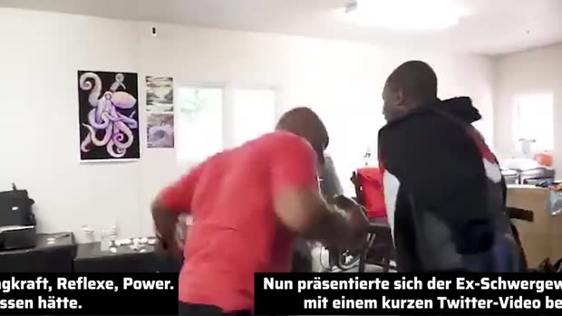 Box-Opa? Von wegen! Legende Mike Tyson in bestechender Form | Viral