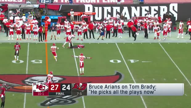 Silver: Bruce Arians says Tom Brady has been picking the plays