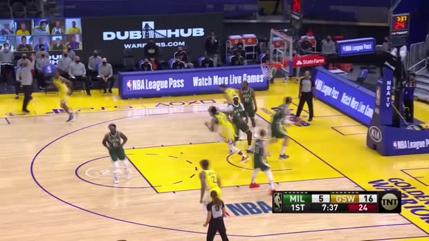 NBA: Bucks @ Warriors | StatsPerform Highlights