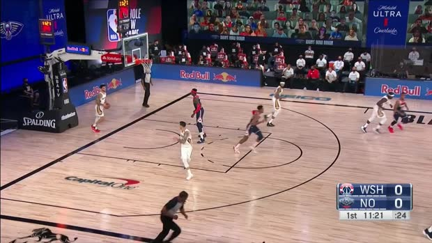 WSC: Isaac Bonga 7 points vs the Pelicans