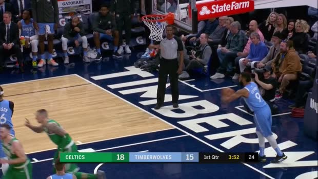 WSC: Daniel Theis (25 points) Highlights vs. Minnesota Timberwolves