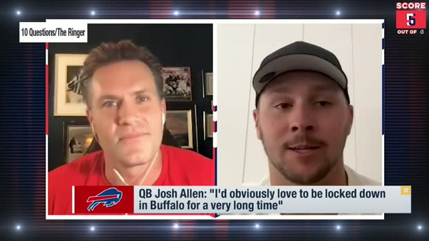 Schrager: Josh Allen could be 'MVP favorite' in 2021
