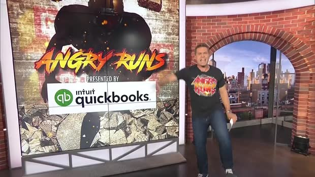 Kyle Brandt crowns Week 10 angry runs champion