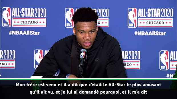 "Basket : Giannis - ""Un peu l'intensité des playoffs"""