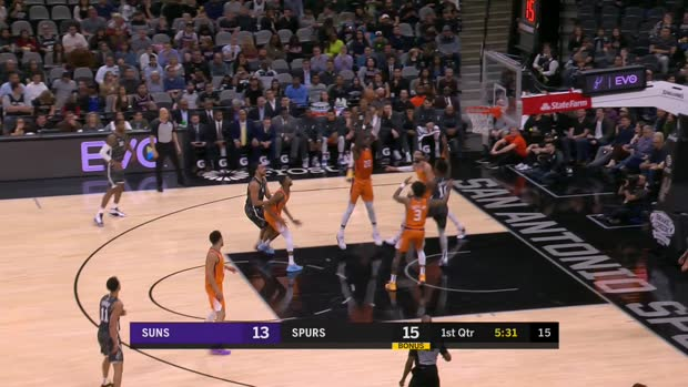 GAME RECAP: Suns 103, Spurs 99