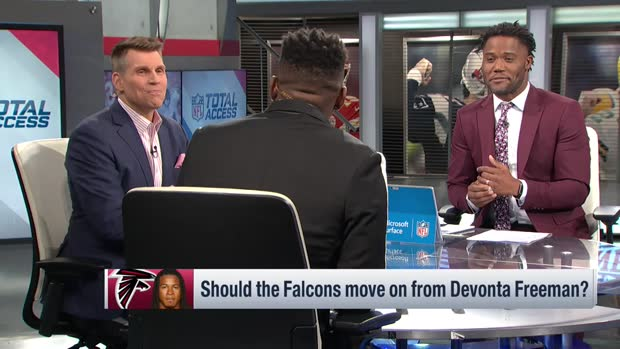 NFL Network's Michael Robinson on running back Devonta Freeman: 'His days are numbered' in Atlanta