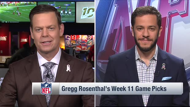 Gregg Rosenthal makes game pick for Steelers-Browns on 'TNF'