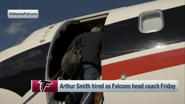 Arthur Smith joins 'NFL Total Access' after accepting Falcons HC role