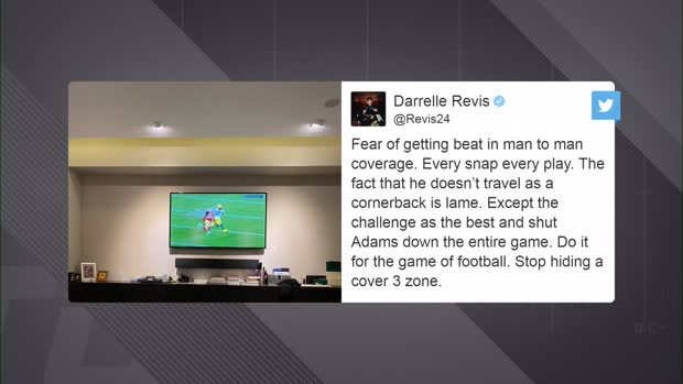 NFL Network's Steve Smith weighs in on Richard Sherman-Darrelle Revis Twitter beef