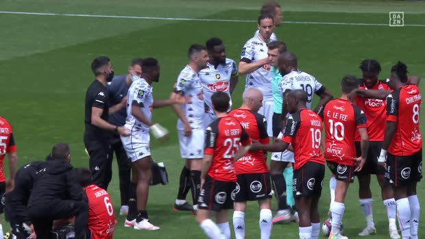 Ligue 1: Lorient - Angers | DAZN Highlights