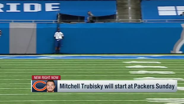 Pelissero: Trubisky will start vs. Packers Week 12