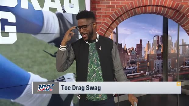 Nate Burleson breaks down top toe-drag swag catches of Week 10