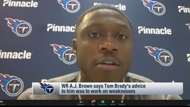 A.J. Brown reveals advice he received from Tom Brady