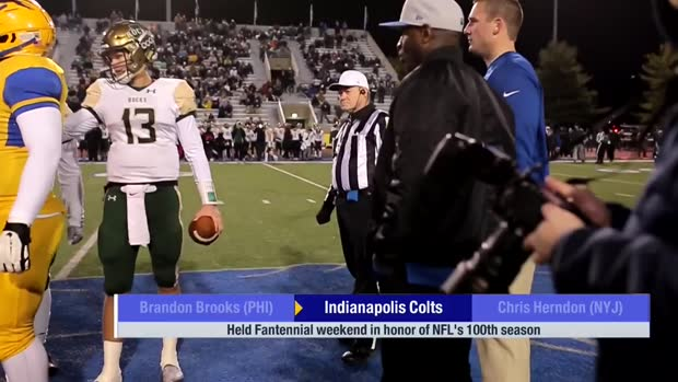 Indianapolis Colts host Fantennial weekend at high school football game