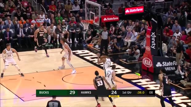 WSC: Giannis Antetokounmpo with 33 Points vs. Atlanta Hawks