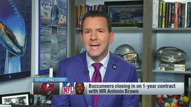 Rapoport: Antonio Brown 'very close' to a deal with the Buccaneers