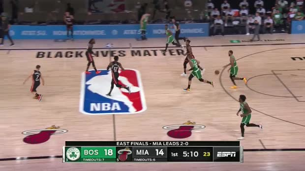 WSC: Jaylen Brown scores 26 points vs. Heat