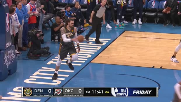 WSC: Nikola Jokic with 32 Points vs. Oklahoma City Thunder