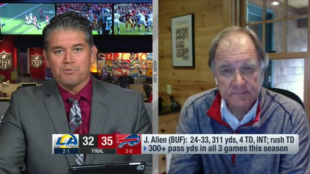Billick: Josh Allen is putting up 'MVP numbers' right now