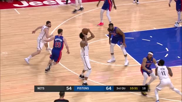 WSC: Kyrie Irving with 45 Points vs. Detroit Pistons