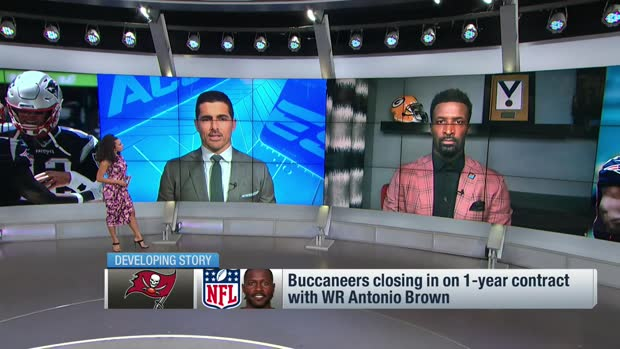 'NFL Total Access' crew reacts to potential Antonio Brown-Bucs deal