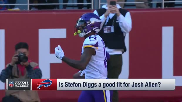 NFL Network's Steve Smith Sr.: Buffalo Bills wide receiver Stefon Diggs trade takes pressure off of Bills' defense