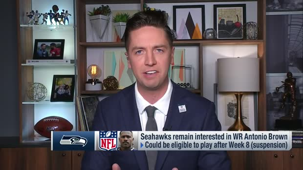 Pelissero: Seahawks 'have been tracking' Antonio Brown's availability