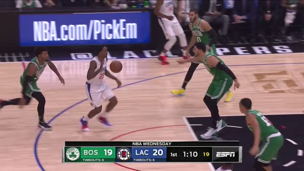 WSC: Jayson Tatum with 30 Points vs. LA Clippers