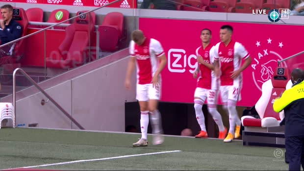 Eredivisie: Ajax - Waalwijk | DAZN Highlights
