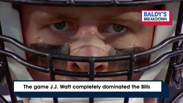 Baldy Breakdown: The game J.J. Watt completely dominated the Bills | Week 4, 2014