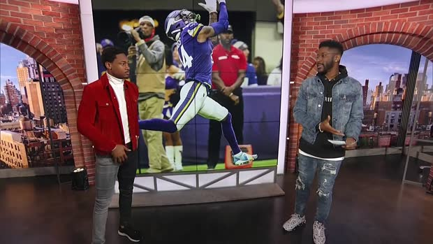 Nate Burleson, Stefon Diggs break down best Minnesota Vikings catches of 2019